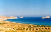 Πανοραμική παραλίας Ξερόκαμπου